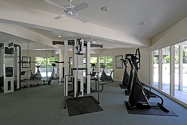 Get back in shape in our fitness center